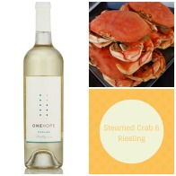 Steamed Crab & Riesling